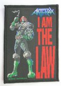 Anthrax - 'I am the Law' Woven Patch